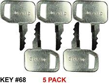 Fits Jds John Deere Skid Steer Key 5 Pack
