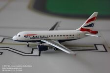 Herpa Wings British Airways Airbus A318 Union Jack Diecast Model 1:400