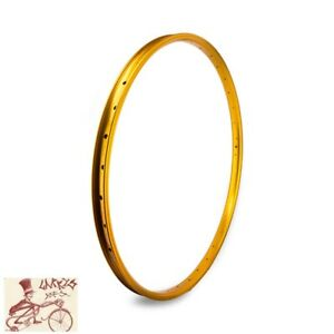 "SE RACING BIKES J24SG  36H---29""  GOLD BICYCLE RIM"