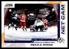 2011-12 Score The Franchise Pekka Rinne #2