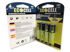 12 x Aufladbare Batterien Akku Accu Batterie EcoCell 3900 mAh AA R06 1.2V Mignon
