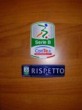 TOPPA PATCH PATCH'S LEGA CALCIO LEXTRA SERIE B CONTE.IT + RISPETTO ANNO 16-17