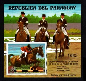 Olympic Paraguay 1976 block of stamp Mi#bl.276 MNH CV=22€
