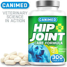 CANIMED Dog Joint Supplement More Active Ingredients Than Lintbells YuMove 300
