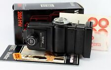 Vivitar Flash, 285 HV, Zoom Thyristor - with instructions, wide angle attachment