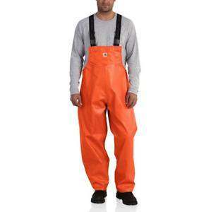NWT Carhartt 101982 - Belfast Bib Overall Orange Size 2XL