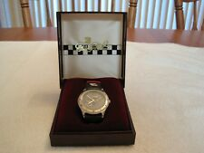 #3 DALE EARNHARDT OFFICIAL WATCH--LEATHER BAND---NEW