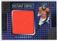 KJ Hamler Broncos RC Jersey 2020 Panini Illusions Instant Impact II24 012121ATCD