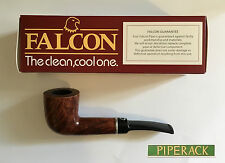 NEW FALCON COOLWAY  9mm FILTER BRIAR PIPE (SHAPE No 101) STRAIGHT BILLIARD