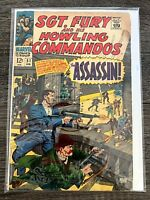SGT. FURY AND HIS HOWLING COMMANDOS #51 MARVEL COMICS VINTAGE COMICS FN-