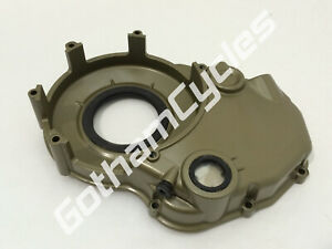 Ducati Magnesium GOLD Vented Dry Clutch Housing Engine Motor Right Side Cover