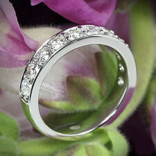 1.90Ct White Round Cut Diamond Engagement & Wedding Band in 925 Sterling Silver