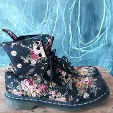 Gorgeous Dr Marten floral canvas boot size 42