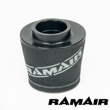 RAMAIR INDUCTION FOAM CONE AIR FILTER UNIVERSAL 60mm OFFSET NECK - 92mm TALL