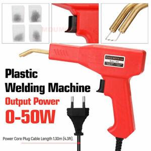 Professional Car Bumper Crack Repair Stapler Plastic Welding Machine Set Kit 50W