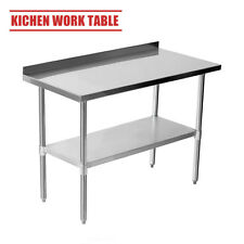Suncoo Commercial Stainless Steel Catering Table Work Bench Kitchen