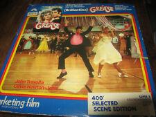 GREASE 1978 SUPER 8 COLOUR SOUND 400FT CINE FILM 8MM OLIVIA NEWTON JOHN