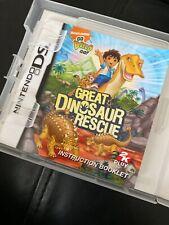 Gran dinosaurio de rescate-Go Diego Go-NINTENDO DS Juego