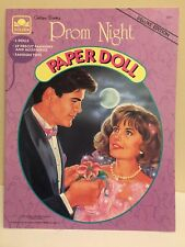 Vintage - 1991 Prom Night Paper Doll - Golden Books Deluxe Edition - New
