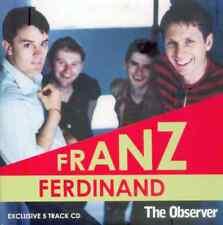 FRANZ FERDINAND - EXCLUSIVE PROMO 5 TRACK CD (2005) DARK OF THE MATINEE ETC