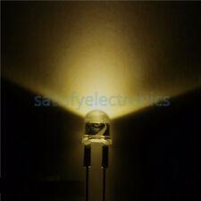 10pcs New 05w 8mm Yellow Straw Hat High Power Led Leds Light Lamp Strawhat