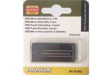 Proxxon 28852 Forets Hélicoidaux -  HSS drill bits 0.8mm 3pcs