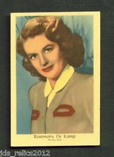 1950's Dutch Gum Card Small Text ROSEMARY DeCAMP This is the Army MOONLIGHT BAY