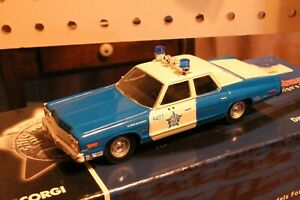 Corgi 1974 Dodge Monaco Chicago Police Car