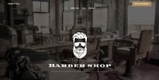 Website Barber Shop You Supply Hosting And Domain