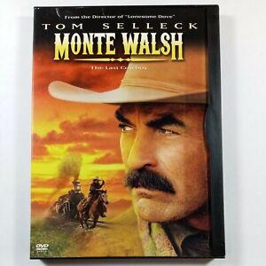 Monte Walsh (DVD, 2003, Widescreen) Tom Selleck