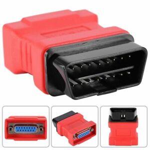 16Pin OBD2 EOBD Adaptor Connector Fits MaxiDAS DS708 Diagnostic Scanner Tool