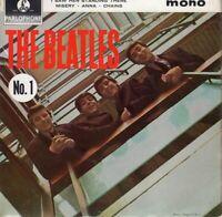 THE BEATLES ~ No.1 ~ Original 1963 UK Parlophone FIRST PRESSING 4-track vinyl EP