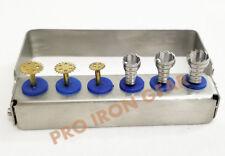 Dental Implant Surgery Instrument Saw/Trephine Bur Mini Kit