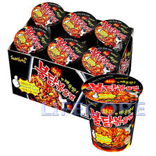 Korean Samyang Hot Spicy Chicken Ramen Instant Noodle BULDAKBOKEUM Ramyun 6 Cups