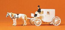 Preiser 75150 Wedding Carriage, Closed, Tt