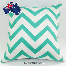 Light Green Stripes Cushion Cover 42.5cm - Fashion Throw Pillow Case Home Decor