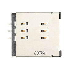 2 pcs/lot for Blackberry torch 9800 9810 sim card connector reader holder tray