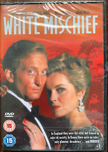 White Mischief DVD 1987 Kenya Africa Erotic Murder Mystery Drama Film Movie BNIB