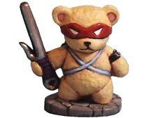 "Aurora Model Mascott game miniatures ""Teddy Bear Ninja"" Metal figure CT-012"