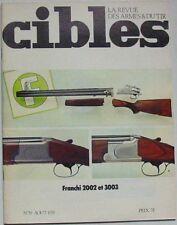 Revue CIBLES - 59 - AOUT 1974 - REVOLVER DAN WESSON MODELE 15