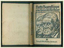 Hatte Bauernköppe Plattdeutsche Heinrch Kleibauer 1924