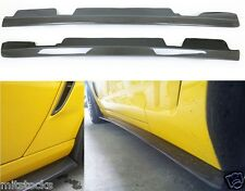 2005-2013 CHEVROLET CORVETTE C6 CARBON FIBER ADD-ON SIDE SKIRT ZR1 STYLE