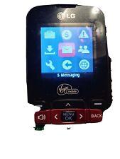 LG VM101 Black Virgin Mobile Cell Mobile Cellular Phone AS IS