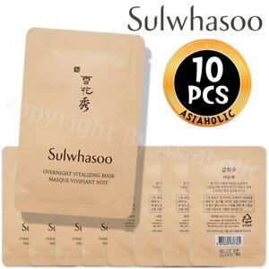 Sulwhasoo Overnight Vitalizing Mask 5ml x 10pcs (50ml) Sample Newist Version