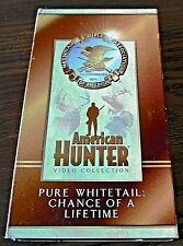 American Hunter Pure Whitetail Chance Of A Lifetime Video Collection (Vhs 2001)