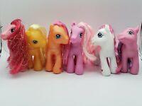 My Little Pony G3 Glitter Mane Lot of 6  SparkleWorks, Butterscotch, Pinkie Pie