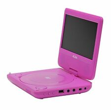 Alba 7 Inch Portable DVD Player - Pink Excellent Gift.