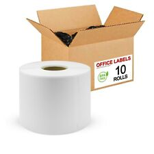 "10 Rolls of 30256 Compatible Shipping Labels for DYMO® 2-5/16"" x 4"""