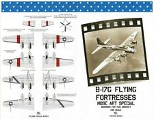 NEW 1:48 Possum Werks Decals 48003 Boeing B-17G Flying Fortress