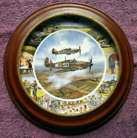 Ltd Edition Collector Plate - Royal Doulton - WWII Aircraft - FREE POSTAGE**